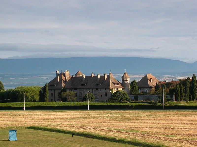 Photo du Monument Historique Château de Ripaille et ancienne chartreuse de l'Annonciade-delà-les-Monts situé à Thonon-les-Bains