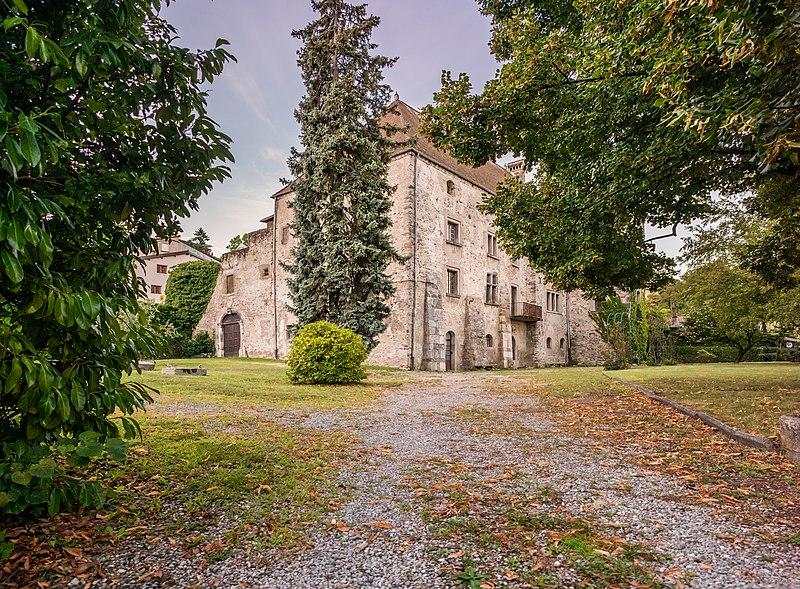 Photo du Monument Historique Château de Rives situé à Thonon-les-Bains