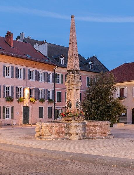 Photo du Monument Historique Fontaine situé à Thonon-les-Bains