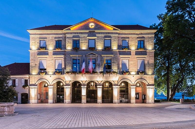 Photo du Monument Historique Hôtel de ville situé à Thonon-les-Bains
