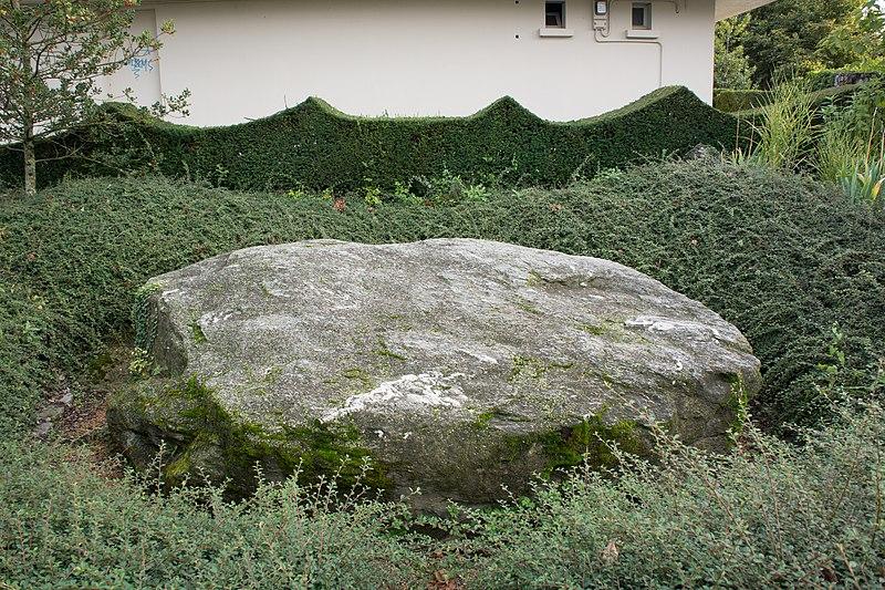 Photo du Monument Historique Pierre dite Pierre des Sacrifices situé à Thonon-les-Bains