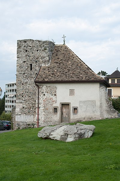 Photo du Monument Historique Tour et chapelle Saint-Bon situé à Thonon-les-Bains