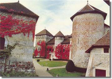 Photo du Monument Historique Château de Thorens, appelé par erreur Château de Sales situé à Thorens-Glières