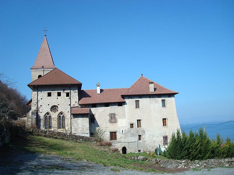 Photo du Monument Historique Prieuré situé à Meillerie