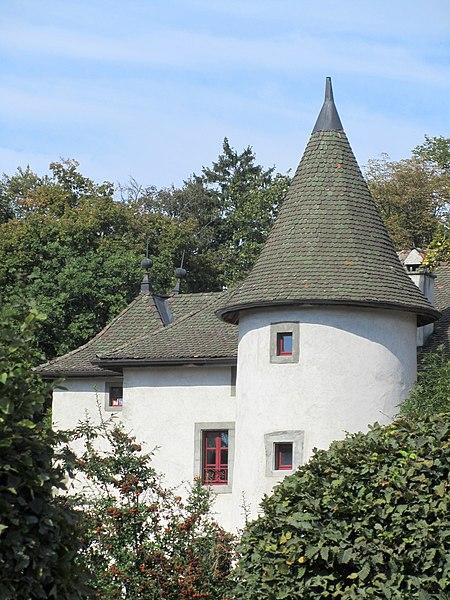 Photo du Monument Historique Château de Loëx situé à Bonne
