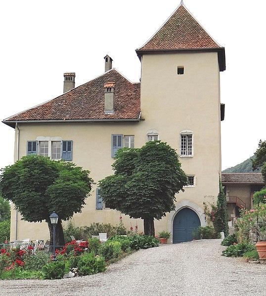 Photo du Monument Historique Château de Fésigny situé à Veyrier-du-Lac
