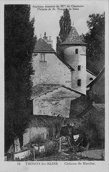 Photo du Monument Historique Château de Marclaz situé à Thonon-les-Bains