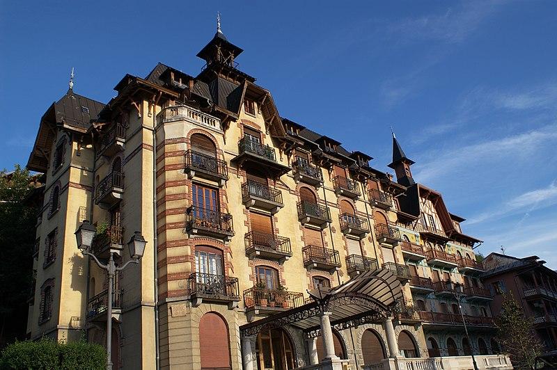 Photo du Monument Historique Ancien hôtel de voyageurs dit Hôtel du Mont-Joly, actuellement immeuble à logements situé à Saint-Gervais-les-Bains