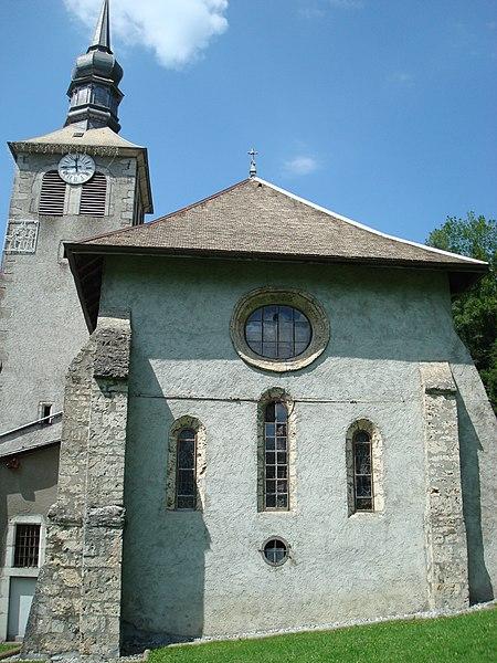 Photo du Monument Historique Ancienne abbaye de Sixt situé à Sixt-Fer-à-Cheval