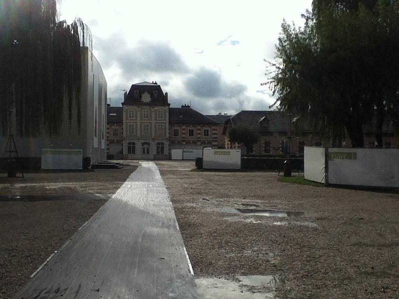 Photo du Monument Historique Haras national d'Annecy situé à Annecy