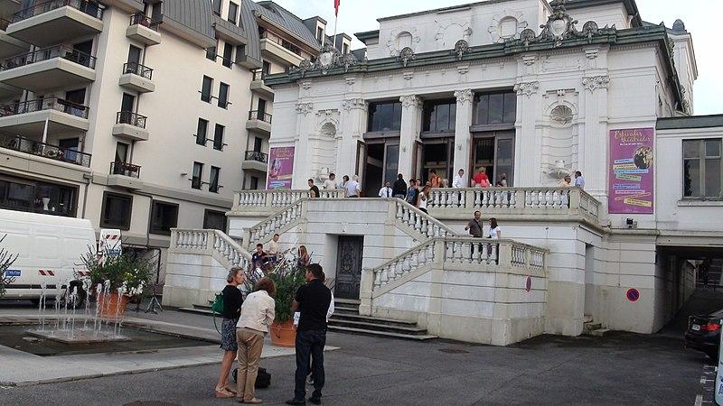 Photo du Monument Historique Théâtre du Casino situé à Evian-les-Bains
