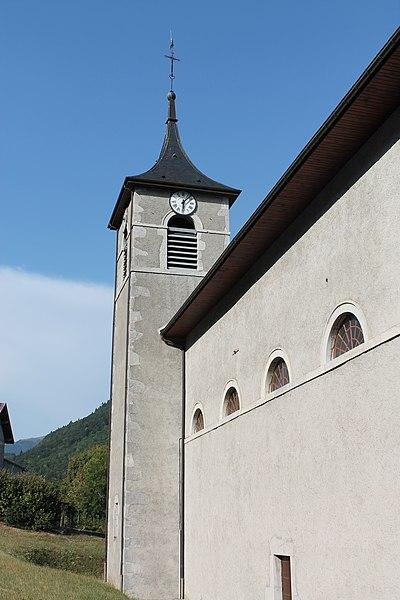 Photo du Monument Historique Eglise de Saint-Ferréol située au centre bourg situé à Saint-Ferréol