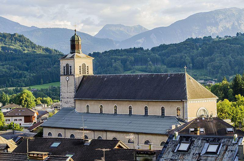 Photo du Monument Historique Eglise Saint-Jean-Baptiste situé à Taninges