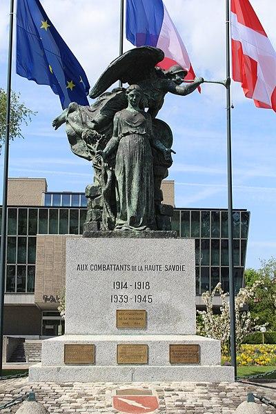 Photo du Monument Historique Monument aux morts situé à Annecy