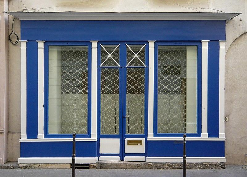 Photo du Monument Historique Boutique situé à Paris 1er Arrondissement