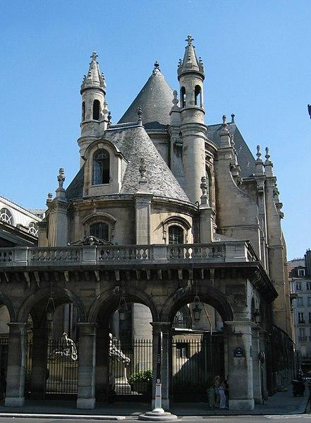 Photo du Monument Historique Temple de l'Oratoire du Louvre (ancienne chapelle du couvent de l'Oratoire) situé à Paris 1er Arrondissement