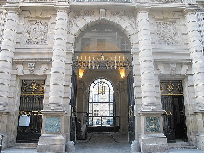 Photo du Monument Historique Cour des Comptes situé à Paris 1er Arrondissement