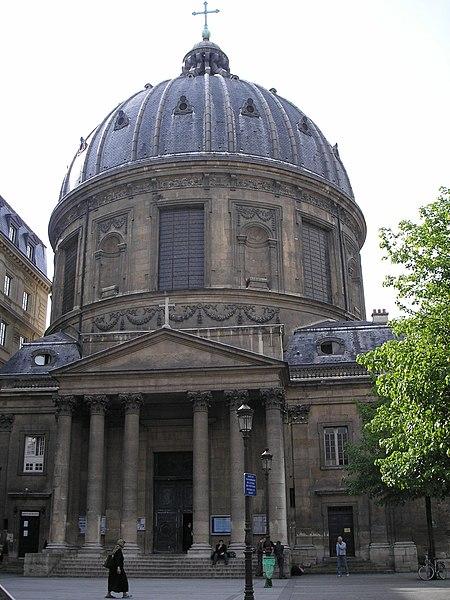 Photo du Monument Historique Eglise de l'Assomption ou église polonaise situé à Paris 1er Arrondissement