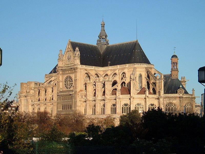 Photo du Monument Historique Eglise Saint-Eustache situé à Paris 1er Arrondissement