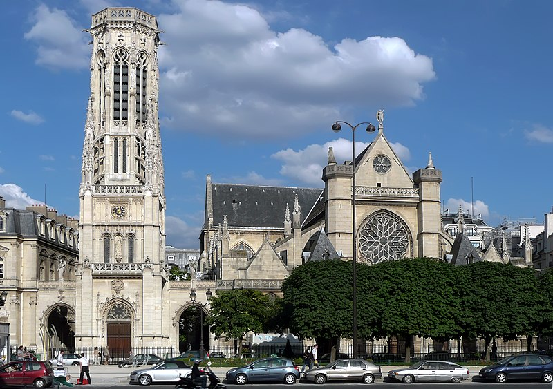 Photo du Monument Historique Eglise Saint-Germain-l'Auxerrois situé à Paris 1er Arrondissement