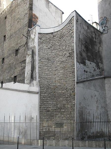 Photo du Monument Historique Enceinte de Philippe-Auguste situé à Paris 1er Arrondissement