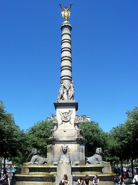 Photo du Monument Historique Fontaine du Palmier situé à Paris 1er Arrondissement