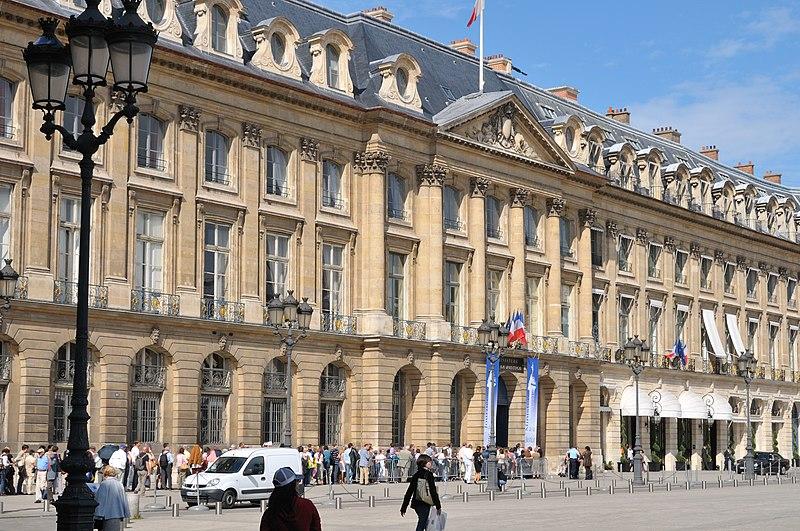 Photo du Monument Historique Ancien hôtel de Bourvallais, actuellement ministère de la Justice situé à Paris 1er Arrondissement