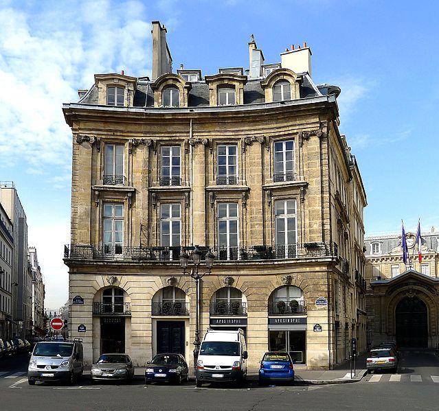 Photo du Monument Historique Ancien hôtel Charlemagne situé à Paris 1er Arrondissement