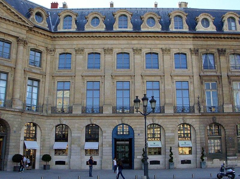 Photo du Monument Historique Ancien hôtel de l'Etat-Major de la Place et du Gouvernement militaire situé à Paris 1er Arrondissement