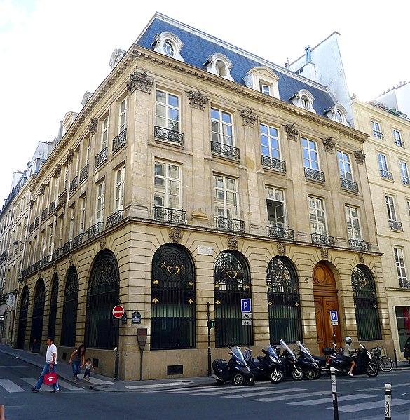 Photo du Monument Historique Hôtel Lulli situé à Paris 1er Arrondissement