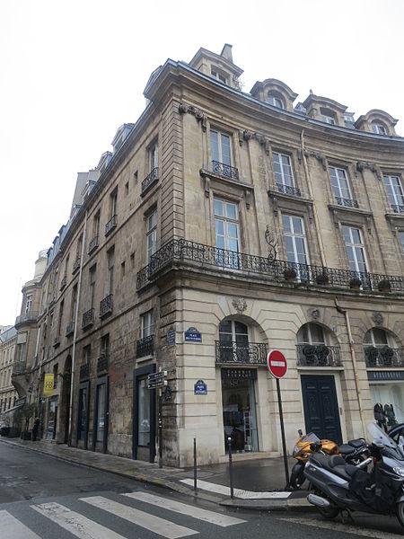 Photo du Monument Historique Ancien hôtel de Montplanque situé à Paris 1er Arrondissement
