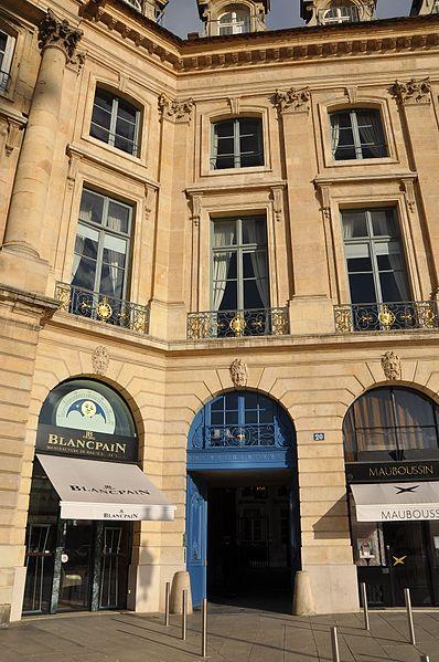 Photo du Monument Historique Ancien hôtel de Parabère situé à Paris 1er Arrondissement