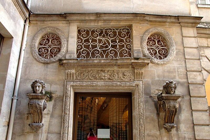 Photo du Monument Historique Ancien hôtel de la Porte, actuellement musée du Barreau de Paris situé à Paris 1er Arrondissement