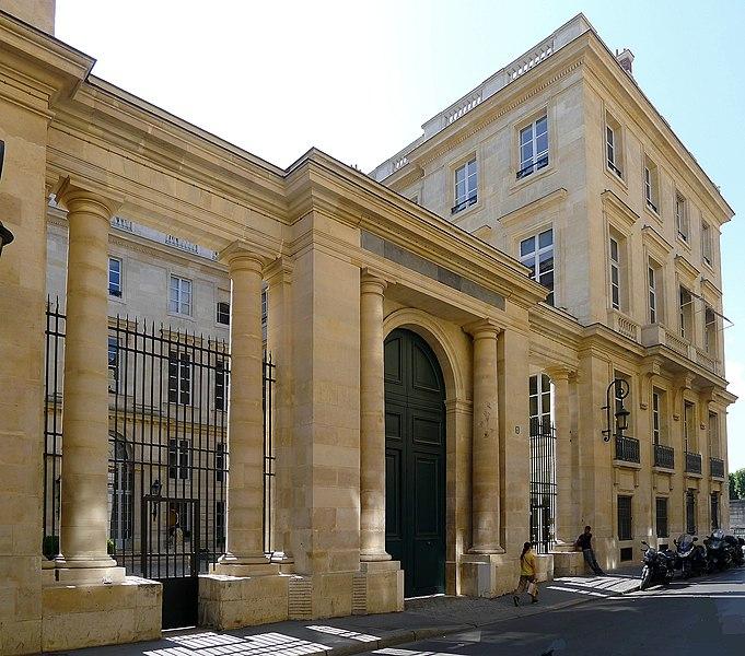 Photo du Monument Historique Ancien hôtel Saint-Florentin, puis hôtel de Talleyrand, actuellement consulat des Etats-Unis situé à Paris 1er Arrondissement