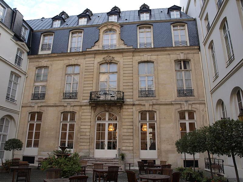 Photo du Monument Historique Hôtel Saint-James et d'Albany situé à Paris 1er Arrondissement