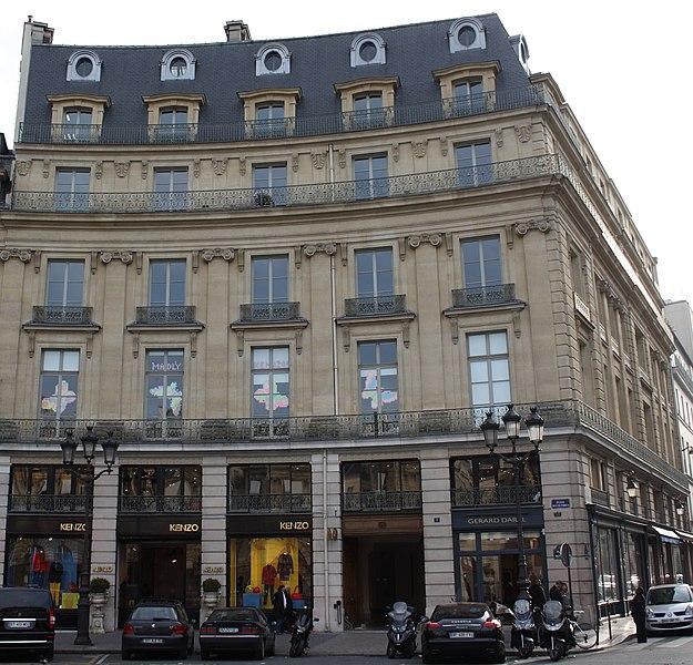 Photo du Monument Historique Ancien hôtel de Soyecourt situé à Paris 1er Arrondissement