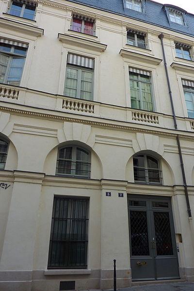 Photo du Monument Historique Immeuble en bordure du Palais-Royal situé à Paris 1er Arrondissement