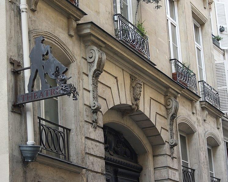 Photo du Monument Historique Immeuble abritant le théâtre des Déchargeurs situé à Paris 1er Arrondissement