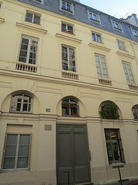 Photo du Monument Historique Immeuble, en bordure du Palais-Royal situé à Paris 1er Arrondissement