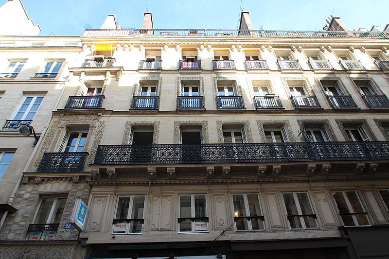 Photo du Monument Historique Immeuble mauresque situé à Paris 1er Arrondissement