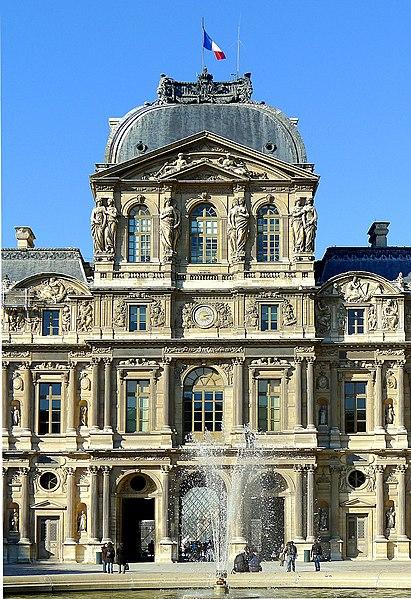 Photo du Monument Historique Palais du Louvre et jardin des Tuileries situé à Paris 1er Arrondissement