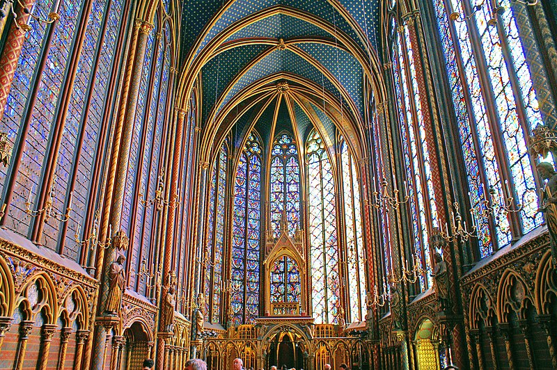 Photo du Monument Historique Sainte-Chapelle situé à Paris 1er Arrondissement