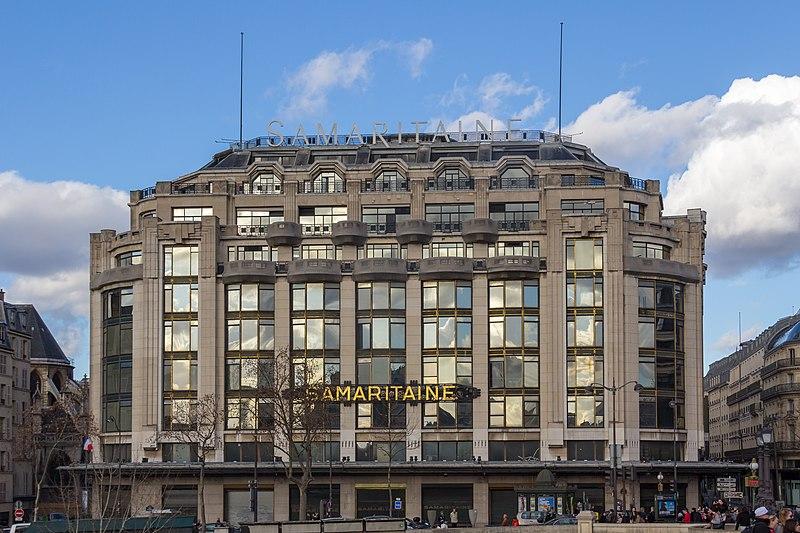Photo du Monument Historique Grands magasins de la Samaritaine situé à Paris 1er Arrondissement