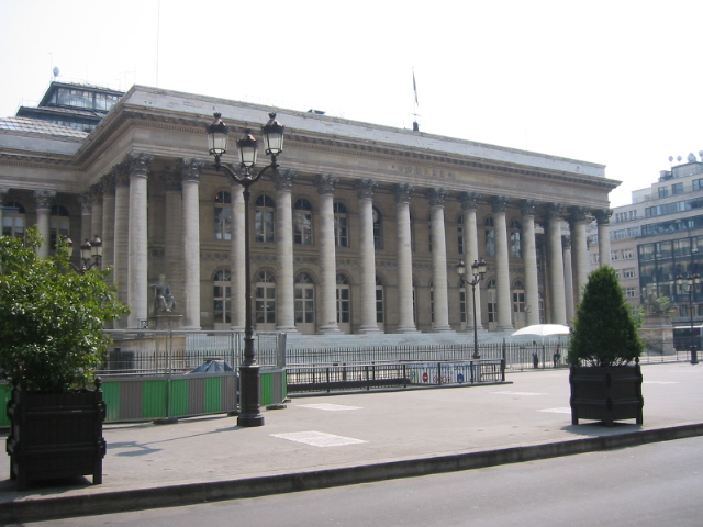 Photo du Monument Historique Bourse situé à Paris 2e Arrondissement
