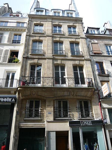 Photo du Monument Historique Ancien bureau des Brodeurs et des Coffretiers situé à Paris 2e Arrondissement