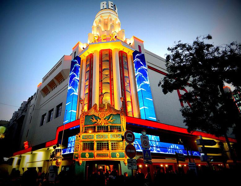 Photo du Monument Historique Cinéma Rex situé à Paris 2e Arrondissement