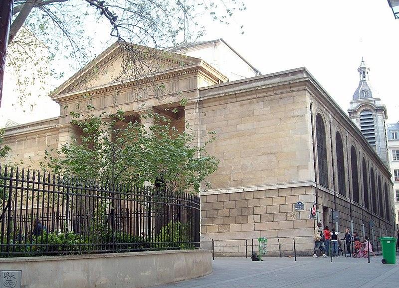 Photo du Monument Historique Eglise Notre-Dame-de-Bonne-Nouvelle situé à Paris 2e Arrondissement