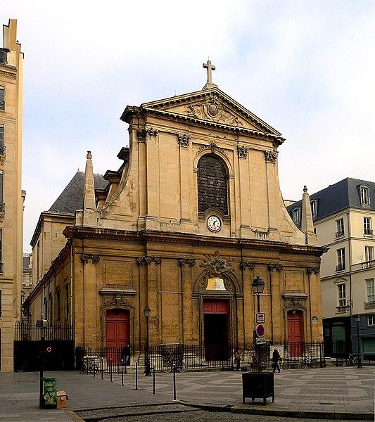 Photo du Monument Historique Eglise Notre-Dame-des-Victoires situé à Paris 2e Arrondissement