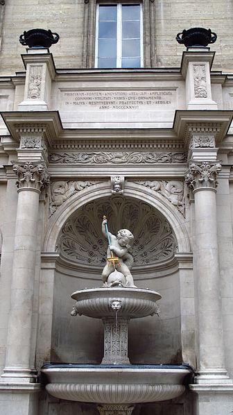 Photo du Monument Historique Fontaine publique situé à Paris 2e Arrondissement