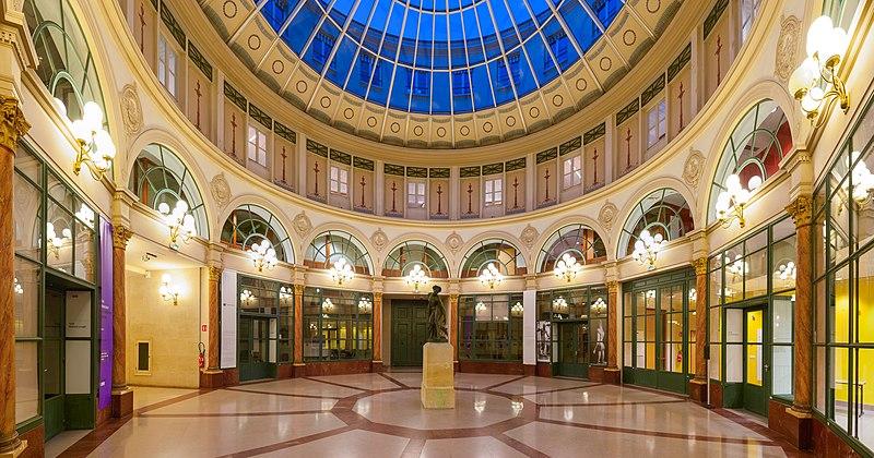 Photo du Monument Historique Galerie Colbert situé à Paris 2e Arrondissement